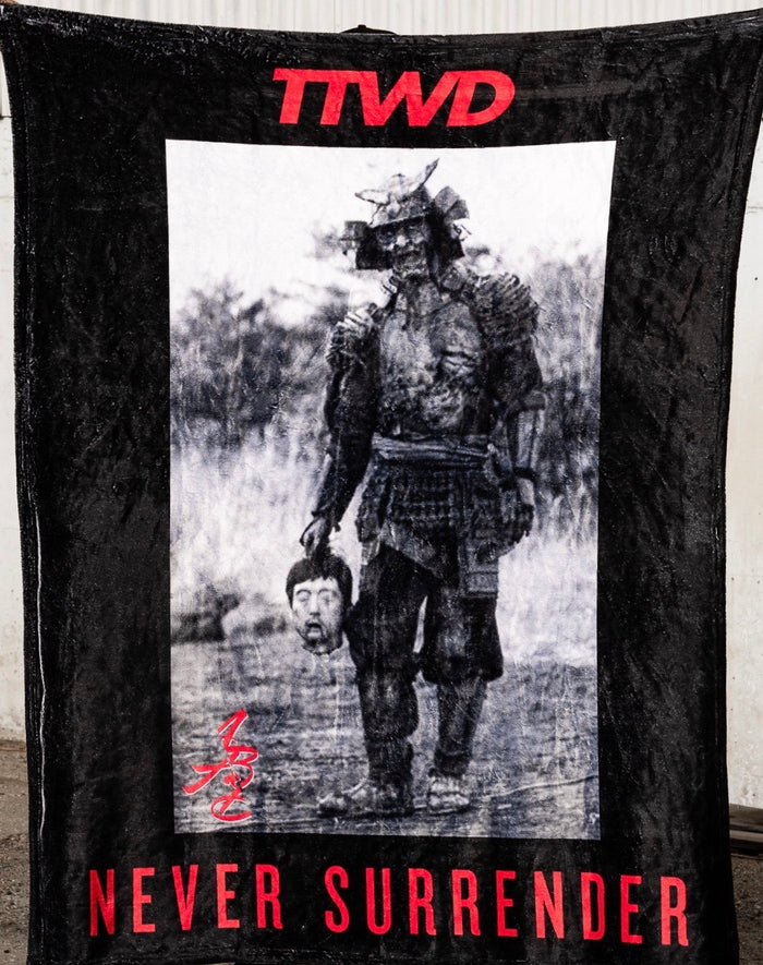 The Never Surrender Fleece Blanket