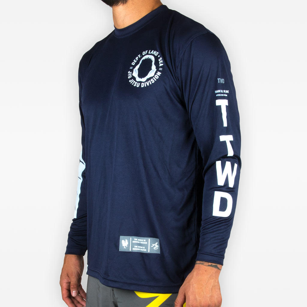 Land + Sea Polyester Long Sleeve Tee (Limited Color Ways)