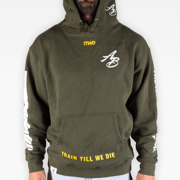 The Official Issue Hoodie 6 - Army Green