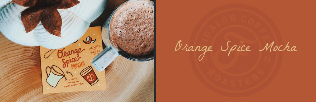 Fidalgo Coffee Orange Spice Mocha