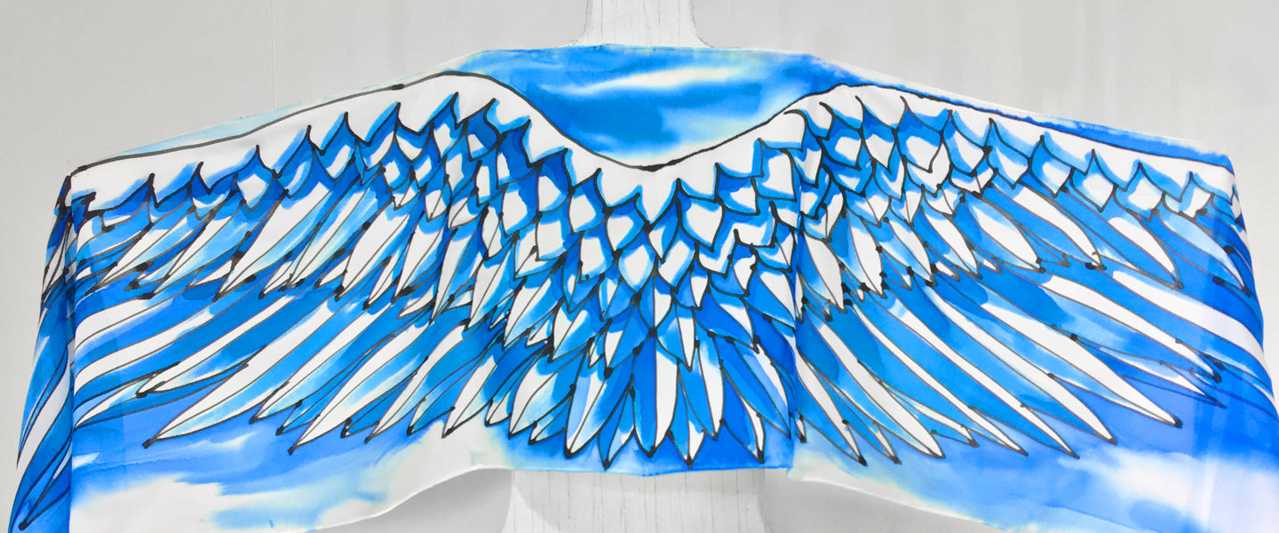 Silk Wing Scarves