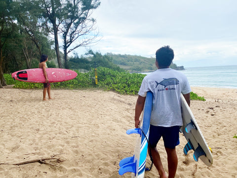 Surfing with Gyotasku Shirt