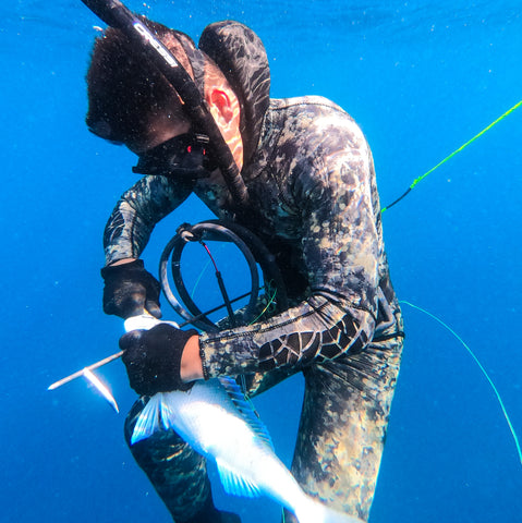 spearfishing photo in Hawaii