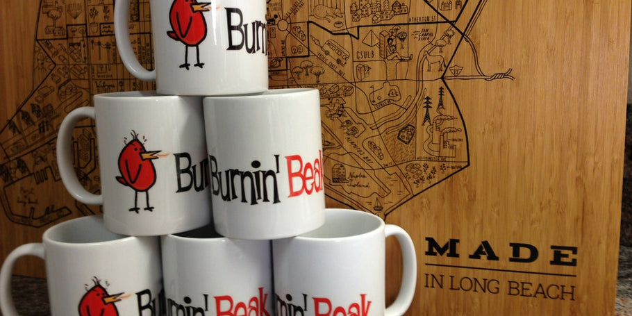 BURNIN' BEAK MUGS