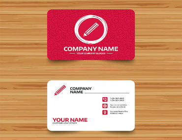 How to make a great business card its also very common nowadays to include any relevant social handles to your business such as facebook twitter and instagram reheart Images