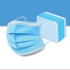 3 Ply Earloop Disposable Face Mask (Pack of 10)