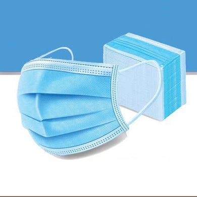 3 Ply Earloop Disposable Face Covering (Pack of 50)