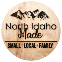 North Idaho Made Logo