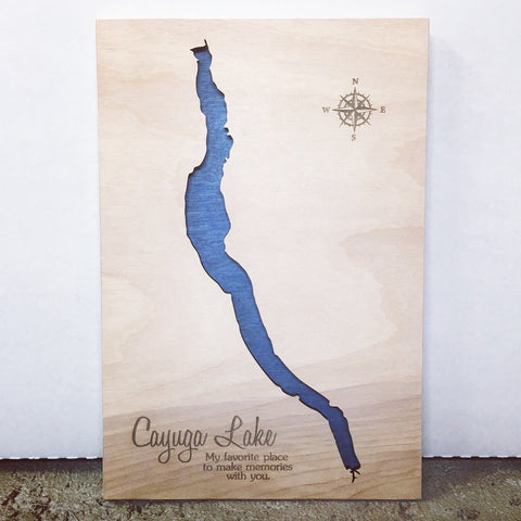 Cayuga Lake Map