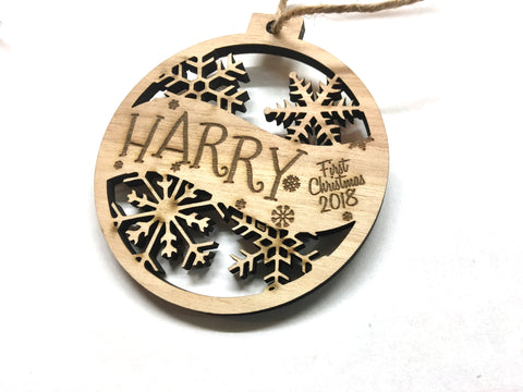 Harry Christmas Ornament