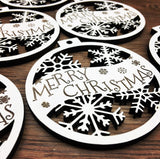 Merry Christmas - Customized Engraved Christmas Ornament