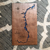 custom lake map