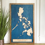 Philippines Wood Map