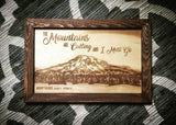 Mount Rainier - The Mountains Are Calling And I Must Go