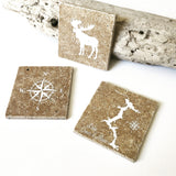 Set of 4 Stone Coasters