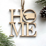 Idaho HOME State Ornament