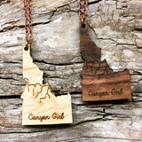 Canyon Girl Idaho Necklace