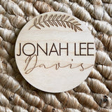 Baby Name Photo Prop