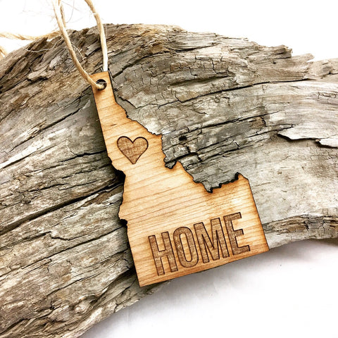 "Idaho ""Home"" Christmas Ornament"