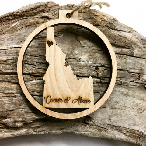 Idaho Christmas Ornament