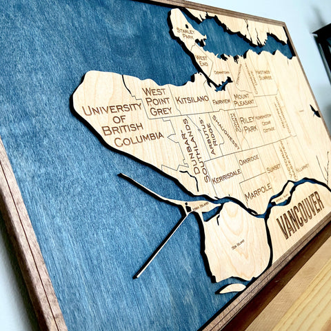 Vancouver Wood Map
