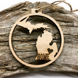 Michigan Christmas Ornament