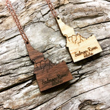 Salmon River Idaho Necklace