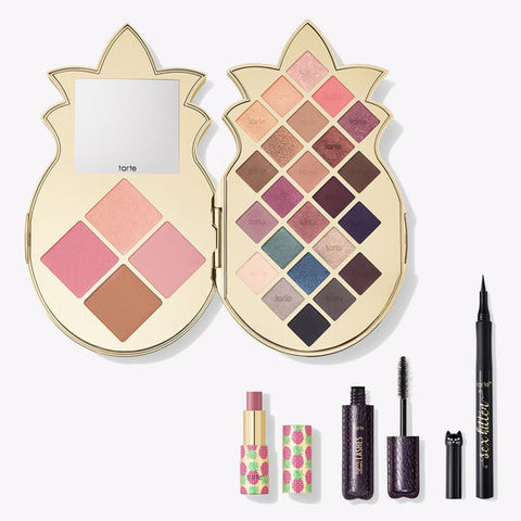 **NEW Tarte cosmetics | pineapple of my eye collector's set