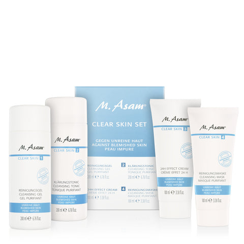 **NEW M.asam | CLEAR SKIN SET 4TLG