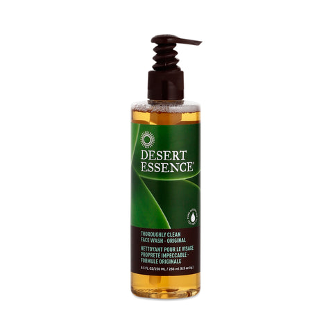 **NEW Desert Essence | Thoroughly Clean Face Wash Original (250 ml)