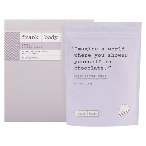 FRANK BODY | Cacao Coffee Scrub 200g