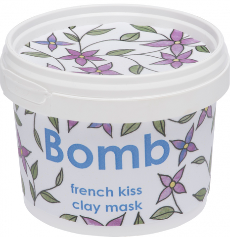 **NEW Bomb cosmetics | French Kiss Clay Mask 120ml