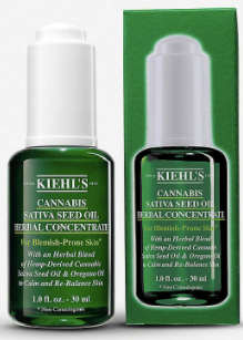 **NEW Kiehls | Cannabis Sativa Seed Oil Herbal Concentrate