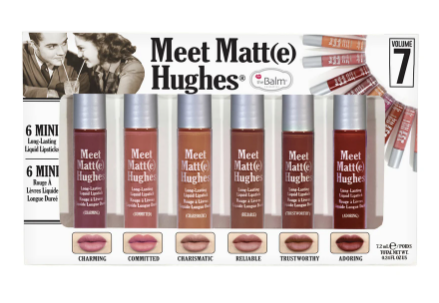 **NEW The Balm | MEET MATTE HUGHES®-VOL. 7