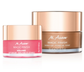 M.ASAM | Magic Finish Makeup Mousse & volume Lip Balm Set
