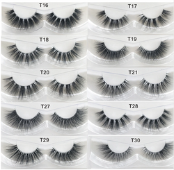 **NEW 100% 3d natural Mink Eyelashes lashes