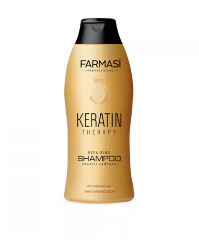 **NEW Farmasi | KERATIN THERAPY REPAIR SHAMPOO 400 ML