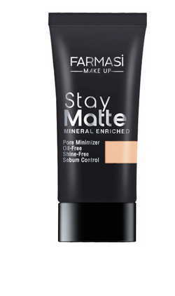 **NEW Farmasi | Stay Matte Foundation 30ml