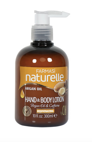 **NEW Farmasi | NATURELLE ARGAN OIL HAND AND BODY LOTION 300 ML