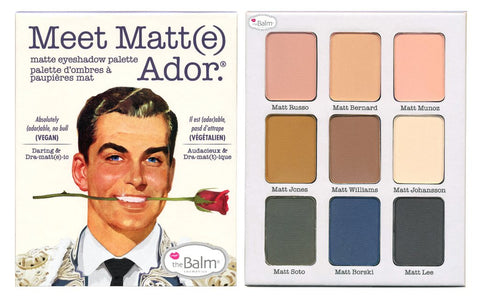 The Balm | Meet Matt(e) Ador
