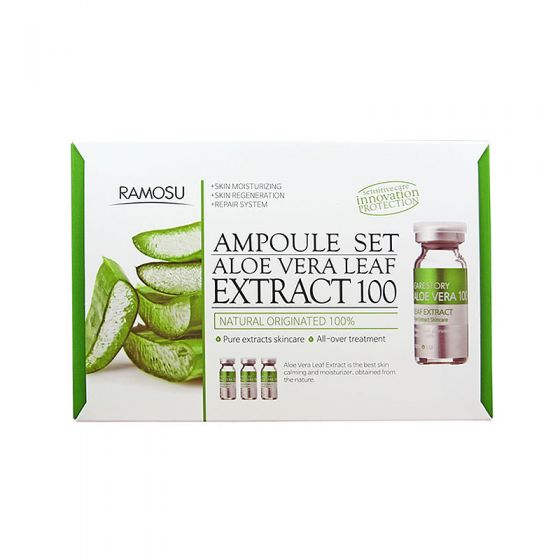 **NEW Ramosu | Aloe Vera Leaf Extract - 100 10mlx3