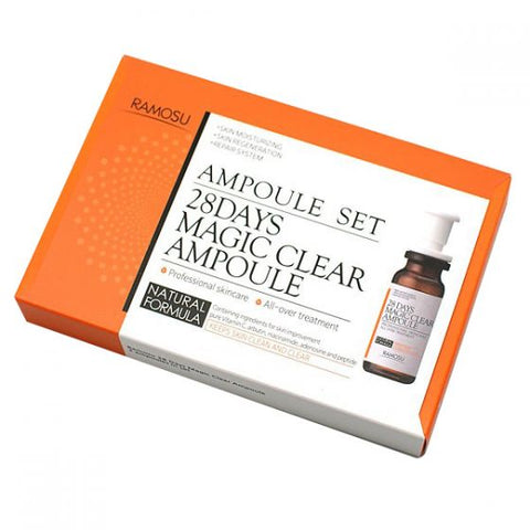 **NEW RAMOSU | 28 DAYS MAGIC CLEAR AMPOULE