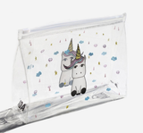 AOA | Clear Makeup Pouch - Unicorn