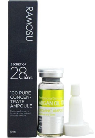 **NEW Ramosu | Facial Skin Care Argan Oil Ampoule & Serum, Moisturizer, Elasticity - 10ml
