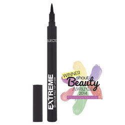 **NEW Collection Extreme 24Hr Felt Tip Eye Liner 7.8g Black