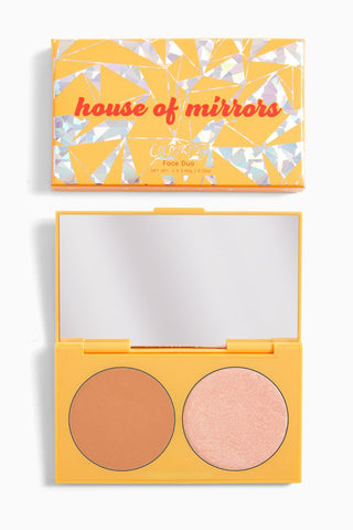 **NEW Colourpop | HOUSE OF MIRRORS pressed powder face duo