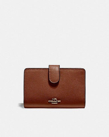Coach corner zip women wallet