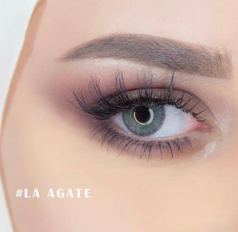 **NEW NATURÈL Contact Lenses | LA AGATE