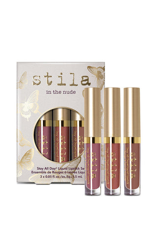 Stila cosmetics | In the Nude - Stay All Day® Liquid Lipstick Set