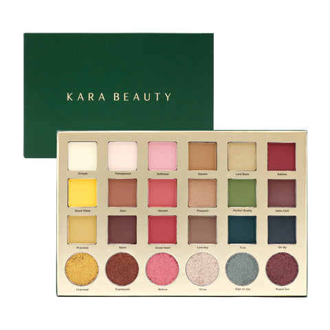 KARA | Down-To-Earth Shadow Palette